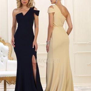 Burgundy Formal gown